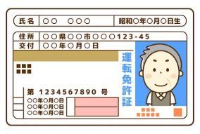 他人の身分証が平然とアップされているSNS