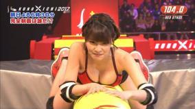 SAKUKE女性版の「KUNOICHI」が放送事故レベルにエロいと話題