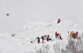 雪崩に遭った栃木県高体連登山部の春山講習会に参加した体験談