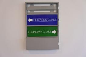 国内線料金で国際線ビジネスクラス席に乗る