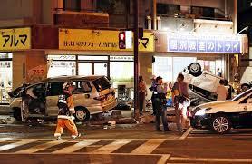 福岡「明治通り」高齢者運転事故の一部始終(動画)