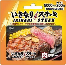 いきなり!ステーキの肉マネーを限界安値で買う