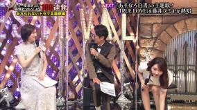 テレ東音楽祭で竹崎由佳アナがパンチラ