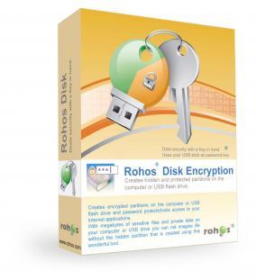 【Windows】保護領域作成ソフト「Rohos Disk Encryption」を無料で製品版にする方法