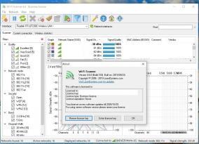 ワイヤレスネットワーク監視ソフト「Wi-Fi Scanner」にライセンス認証の弱点が発見される