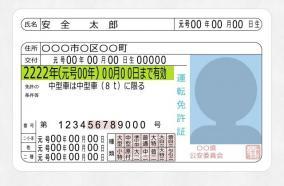 運転免許証を紛失しても免許証番号を変えずに新しい免許証を得た話