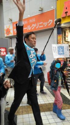 立憲民主党候補が児童を選挙活動に動員