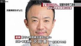 元「歌のお兄さん」沢田憲一、大麻&覚せい剤で2度目の逮捕