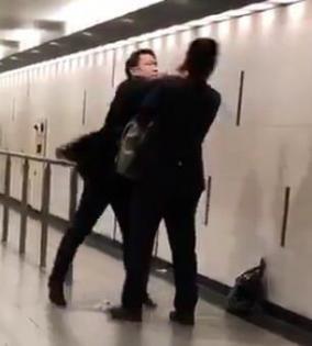 梅田・会社員同士の喧嘩で意識不明動画拡散