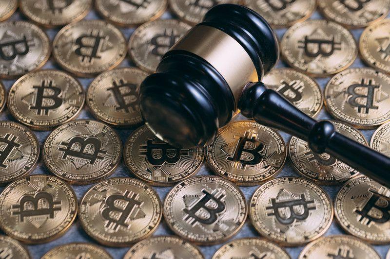 ビットコインとオークションハンマー
